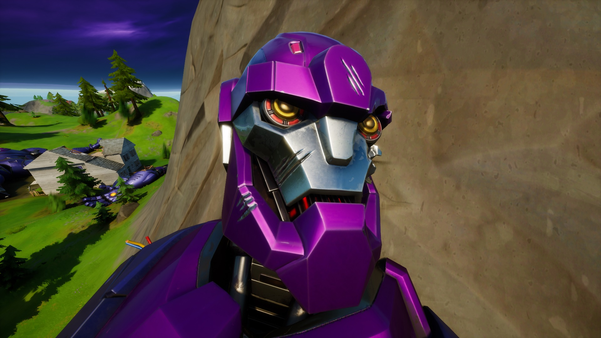 Where To Find The Fortnite Sentinel Head At Dirty Docks Pc Gamer