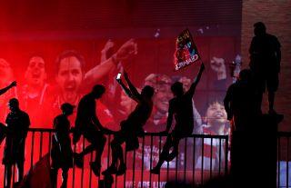 Liverpool wins the Premier League