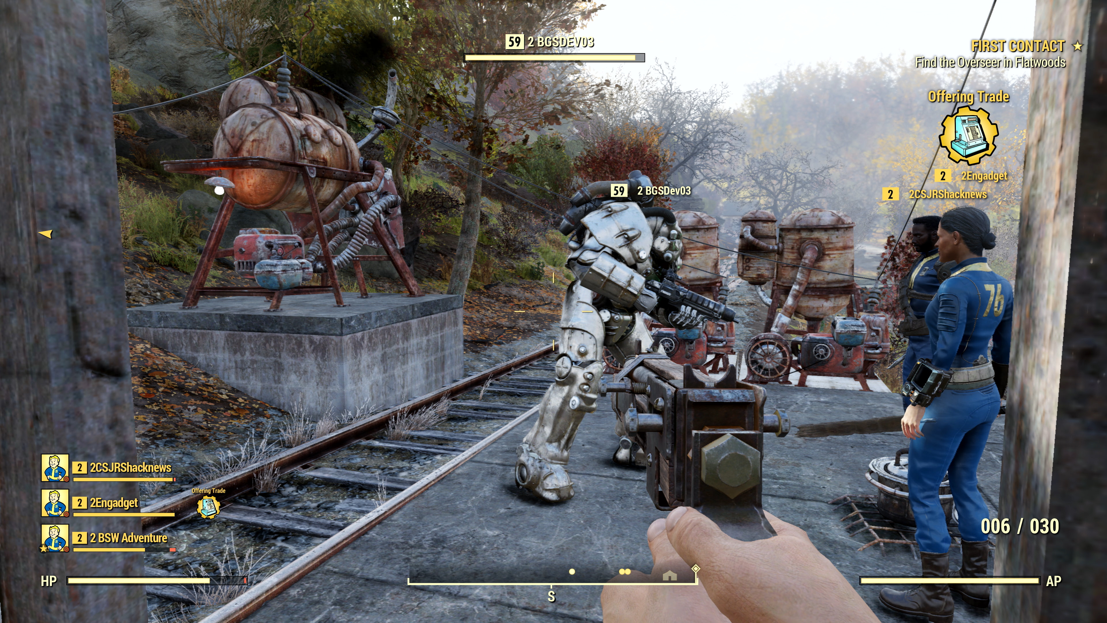 The Enclave are one of Fallout 76's factions, Bethesda