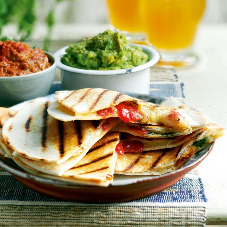 cheese and Tomato Quesadillas recipe-cheese recipes-recipe ideas-new recipes-woman and home