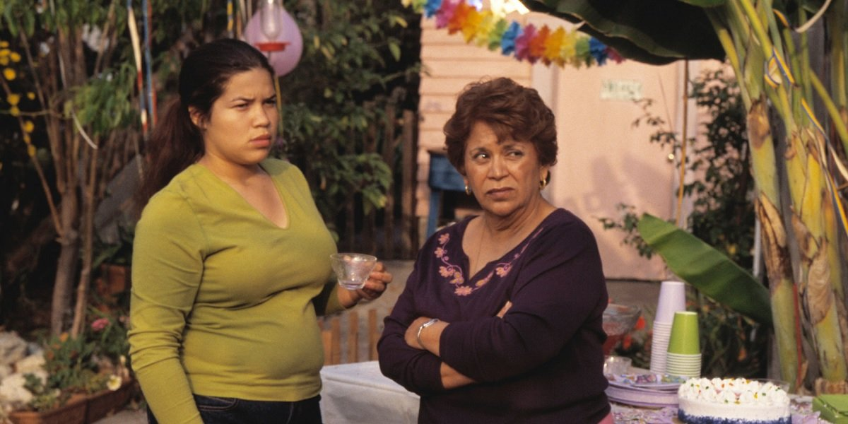 America Ferrera and Lupe Ontiveros in Real Women Have Curves