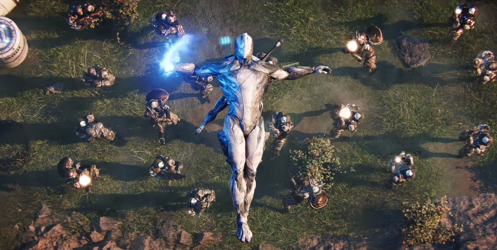 Warframe is getting a badass new intro by the director of 10