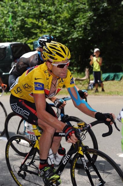 Cadel Evans, Tour de France 2010, stage 9