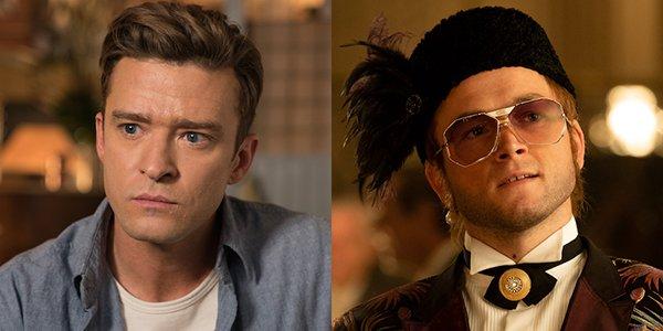 Justin Timberlake and Taron Egerton