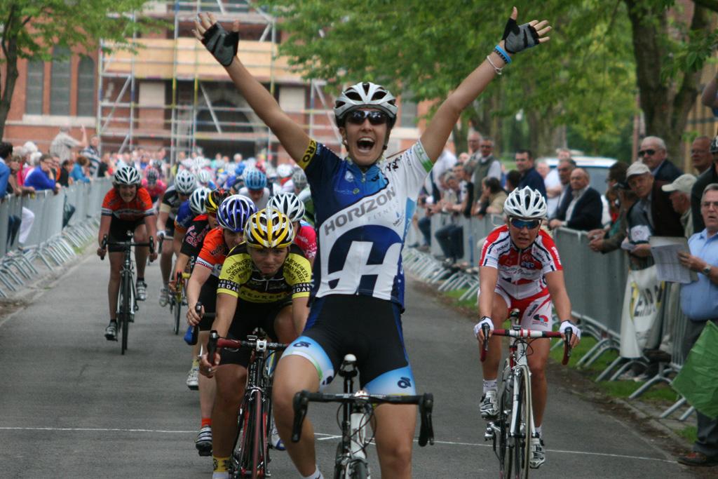 Dani King wins again in Belgium