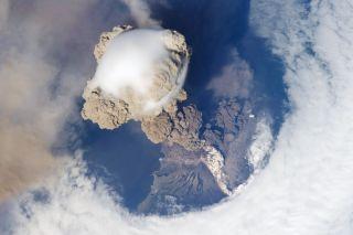 Sarychev Volcano 2009 Eruption