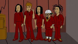 Korn in South Park