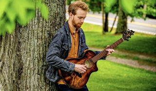 One of Breedlove's new Eco collection guitars in action