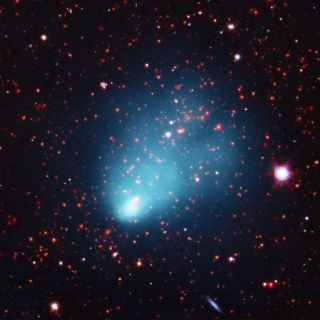 NASA's Chandra Finds Largest Galaxy Cluster in Early Universe