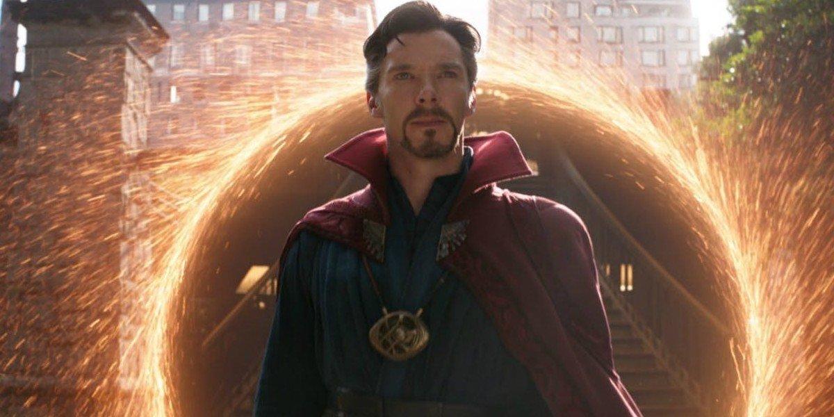 Benedict Cumberbatch as Doctor Strange in Avengers: Infinity War (2018)