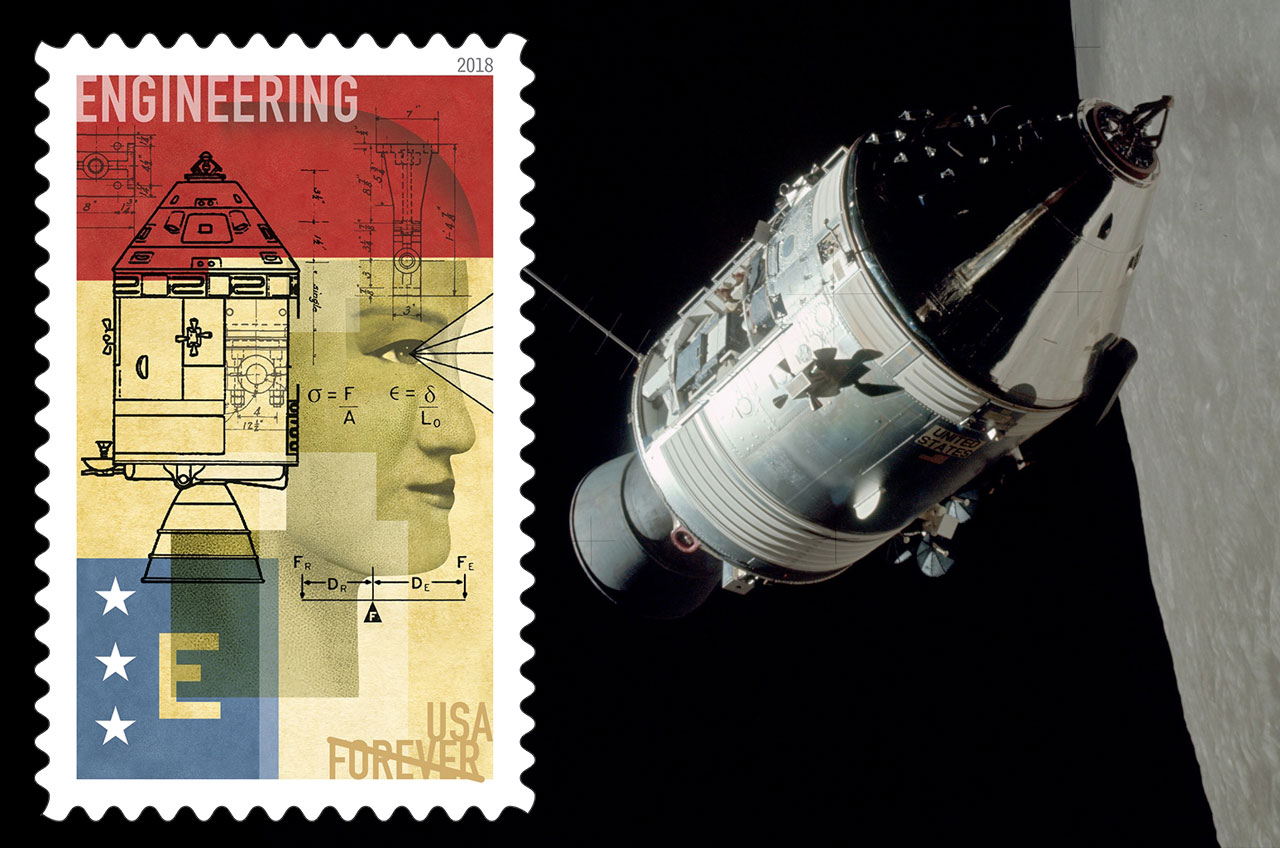 Photos Space Age Postage Stamps Through History Space