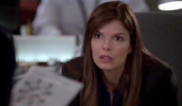 Jeanne Tripplehorn as Dr. Alex Blake on Criminal Minds on CBS