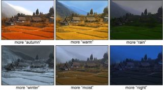 Control Weather with Photo-Editing Program