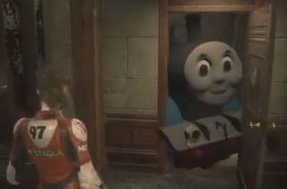 Resident Evil 2 mod turns Mr  X into Thomas the Tank Engine | PC Gamer