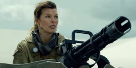 Yes, Milla Jovovich And The Monster Hunter Cast Were Actually In Those Flipping Humvees