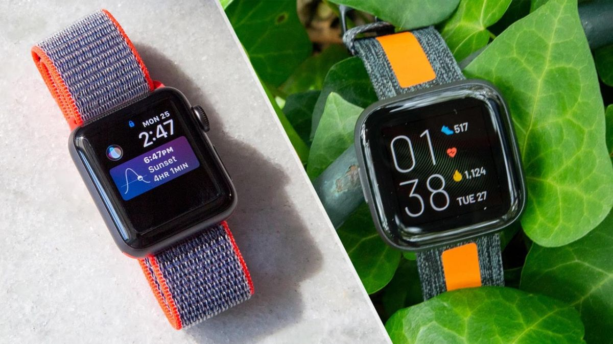 Apple Watch Series 3 vs. Fitbit Versa 2: Which $200 Smartwatch Wins?