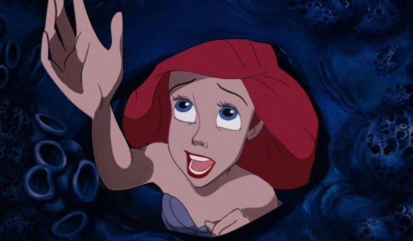 Ariel singing Part of Your World in The Little Mermaid