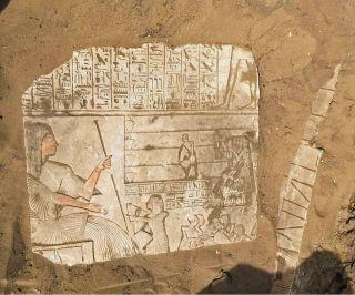 Saqqara, Egypt tomb