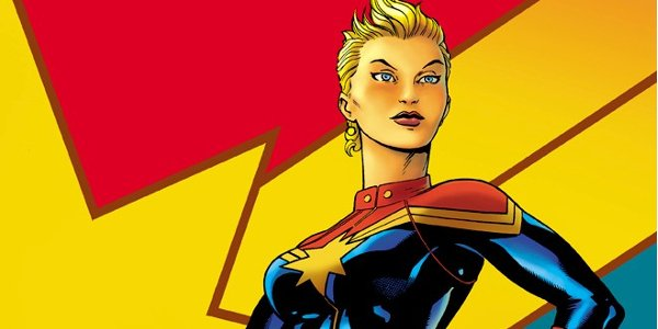 Captain Marvel comic book image