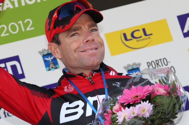 Cadel Evans win stage two, Criterium International 2012