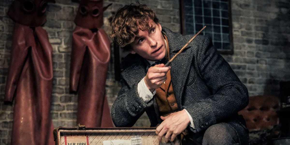Eddie Redmayne as Newt Scamander in Fantastic Beasts: The Crimes of Grindelwald
