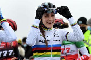 World champion Lucinda Brand (Baloise-Trek)