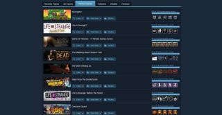 Steam's perfect games section