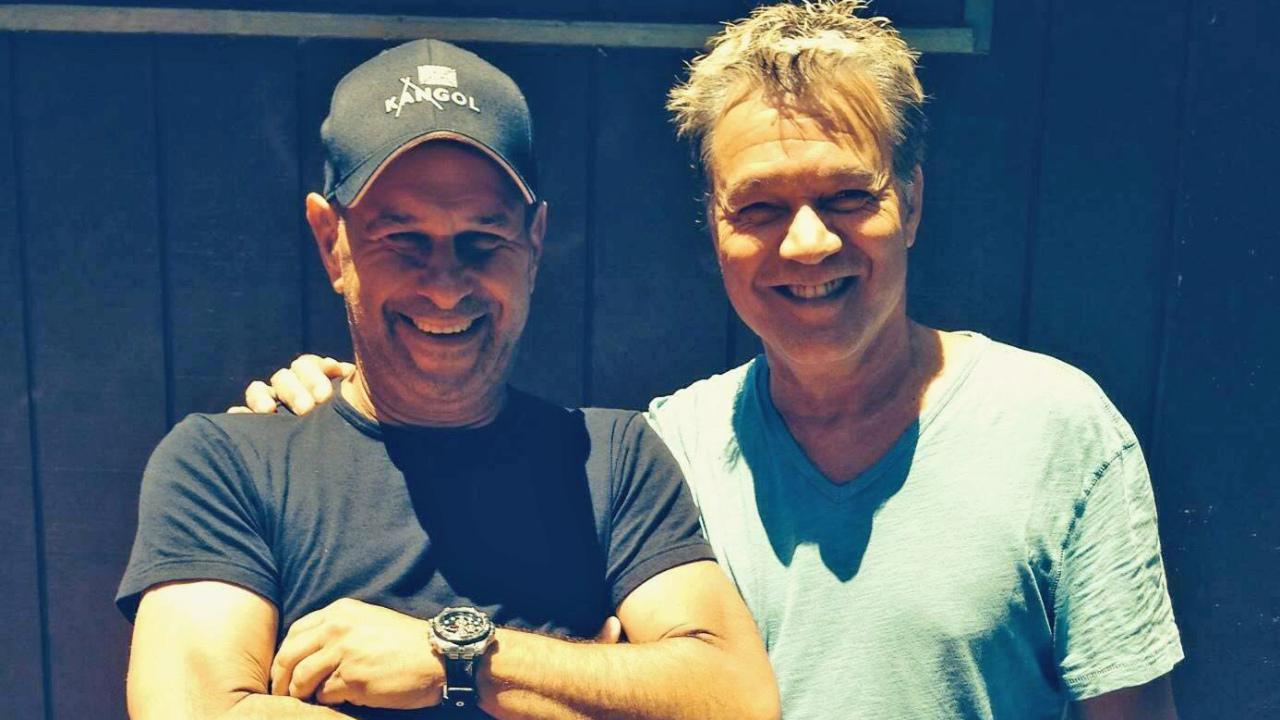 Van Halen studio visit sparks new album hopes   Louder