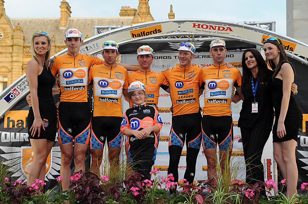 Motorpoint-Marshalls Pasta, series leaders, Tour Series 2010, round 5, Southport