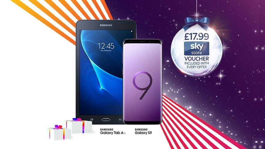 Get a free Galaxy Tab A with this Samsung Galaxy S9 deal from £26 a month