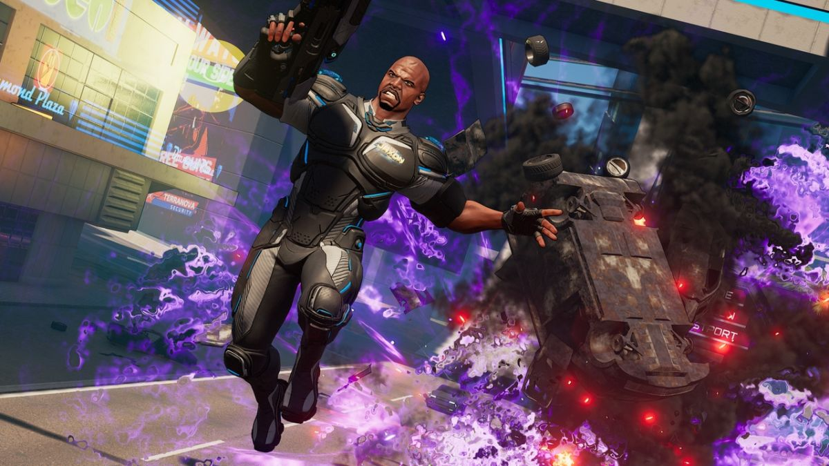 A new update brings the high flying wingsuit, elemental weapons, and more to Crackdown 3