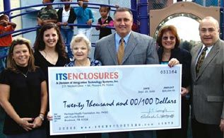 ITSENCLOSURES Makes Charitable Contribution