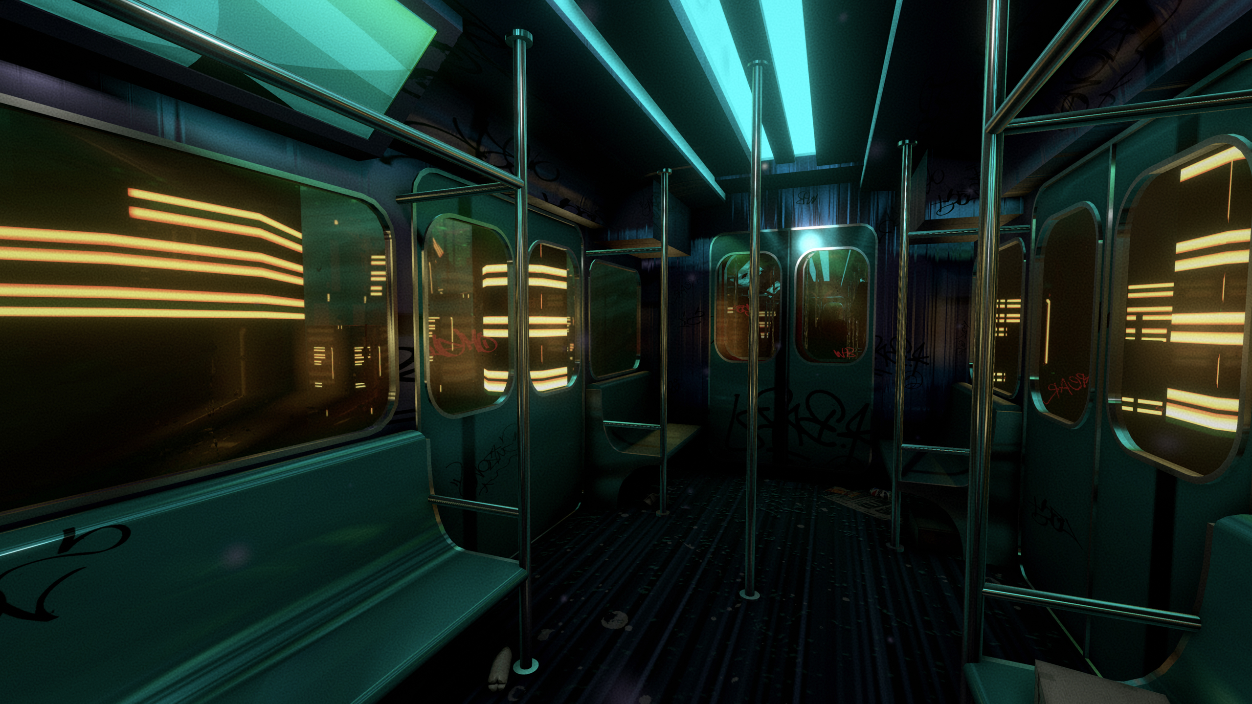 Nightline is a dreamy game about taking a subway train to nowhere