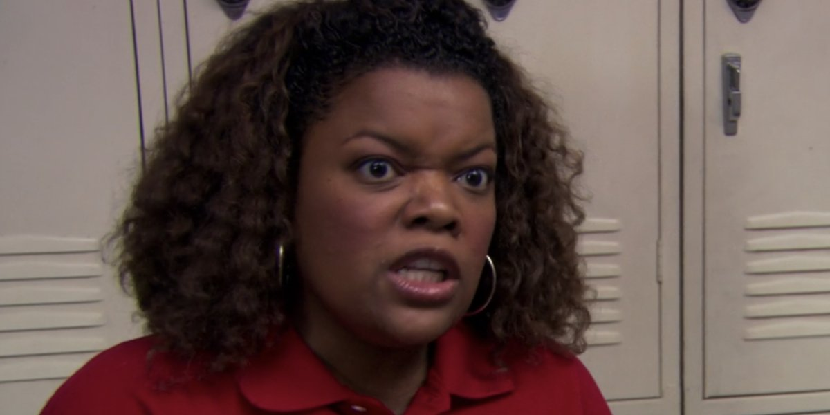 Yvette Nicole Brown on The Office