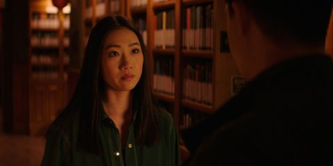 """Kung Fu -- """"Sacrifice"""" Pictured: Olivia Liang as Nicky -- Photo: The CW -- © 2021 The CW Network, LLC. All Rights Reserved"""