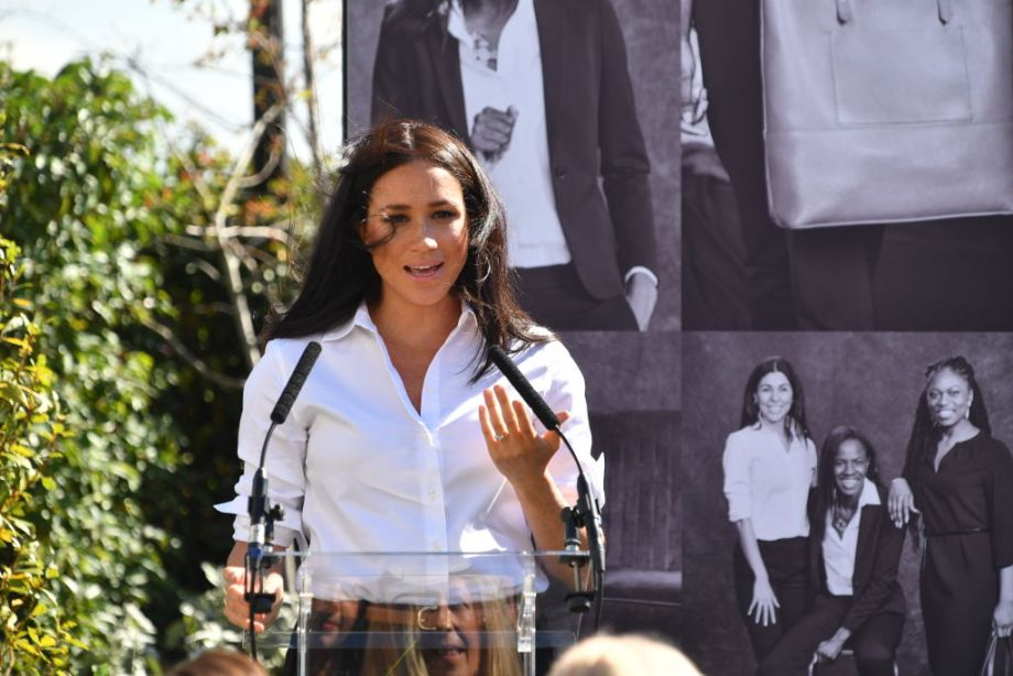 The Duchess of Sussex pays tribute to Diana during capsule collection launch
