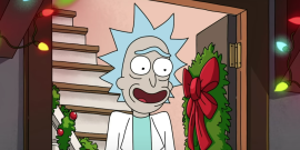 New Rick And Morty Holiday Video Features A Disturbing Grinch Moment