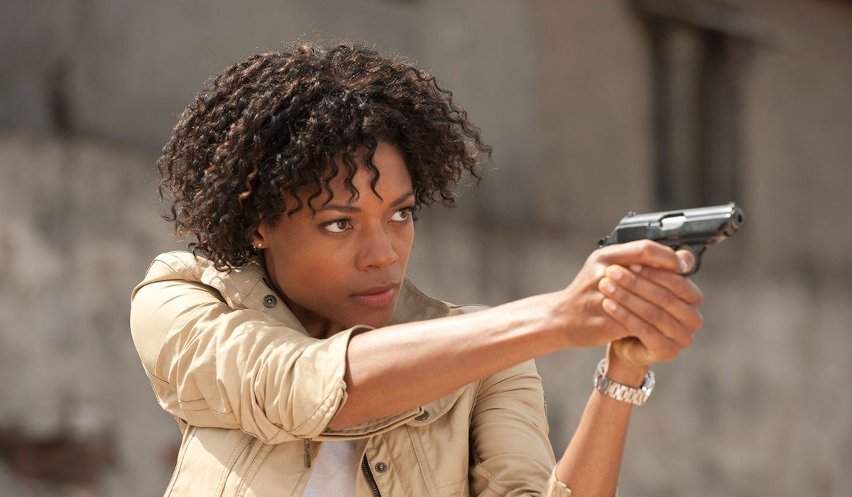 Naomie Harris as Eve Moneypenny in James Bond film Skyfall