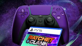 PS5 DualSense Ratchet & Clank: Rift Apart purple