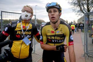 Amstel Gold Race 2021 - 55th Edition - Valkenburg - Berg en Terblijt 218,6 km - 18/04/2021 - Wout Van Aert (BEL - Jumbo - Visma) - photo Dion Kerckhoffs/CV/BettiniPhoto©2021