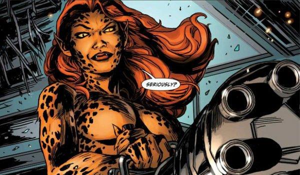 Cheetah Wonder Woman