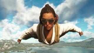 Far Cry 6 wingsuit