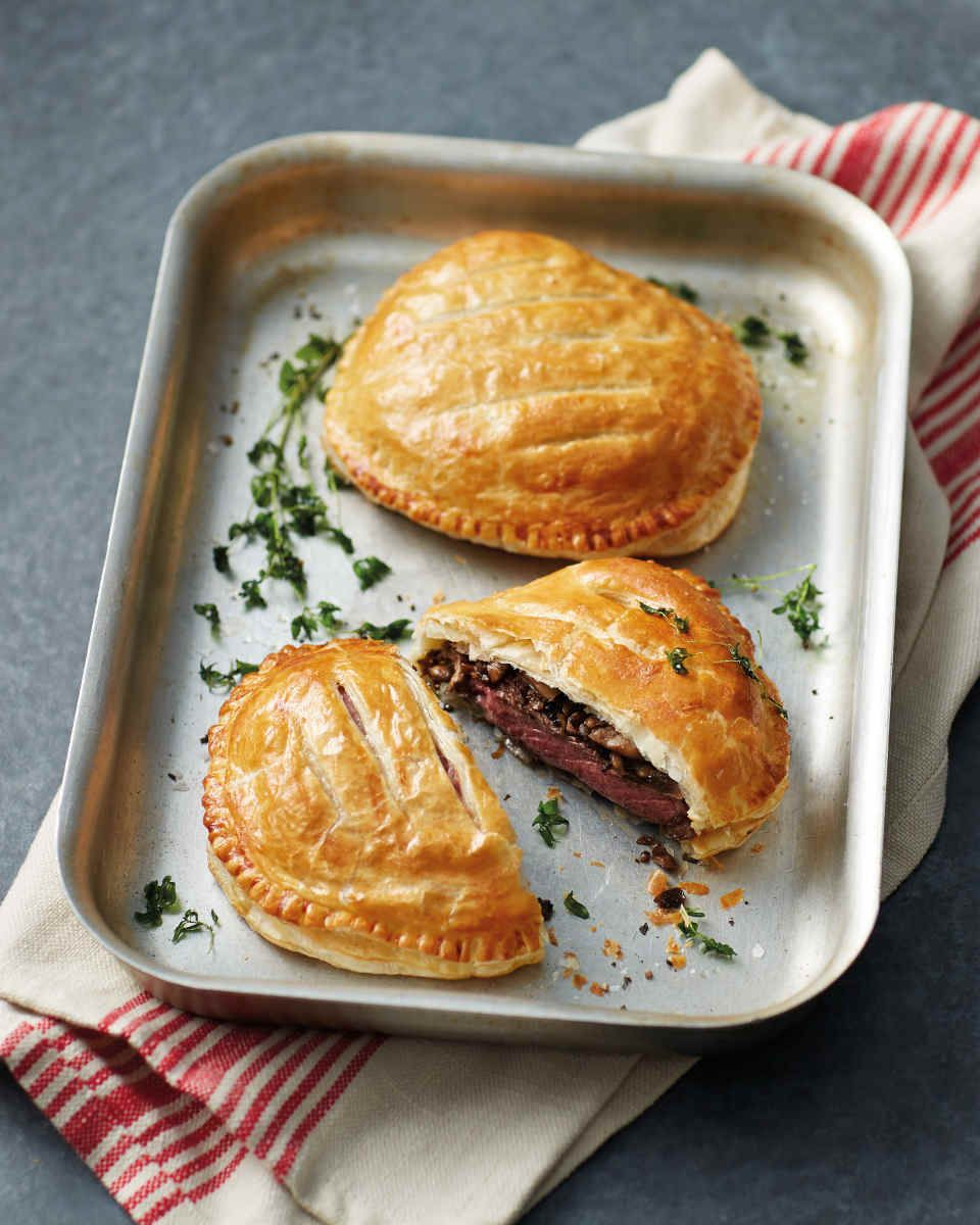 Beef Wellington: these mini pies are the perfect meal for one – or more!
