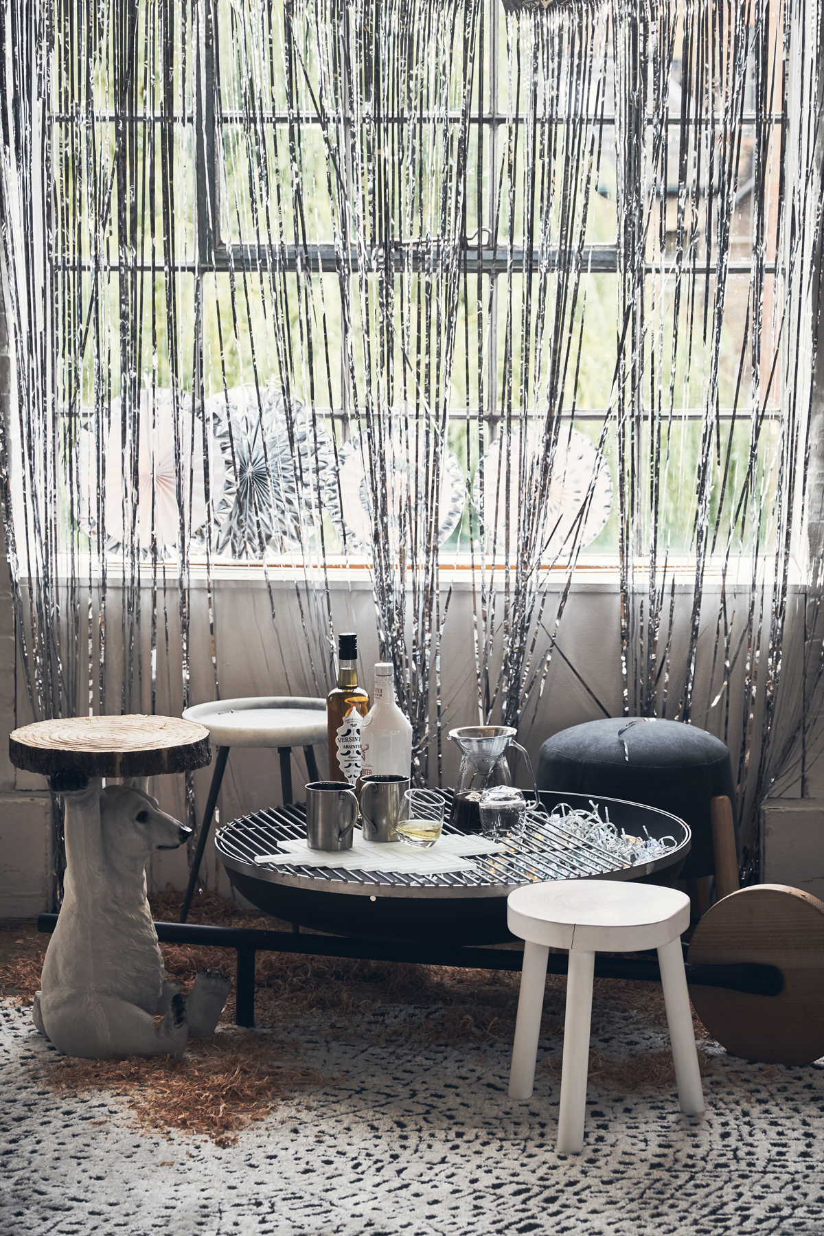 Winter Decorating Ideas Off Piste Cosy Chalet Chic