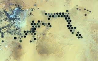 Earth From Space: Al Jawf Oasis