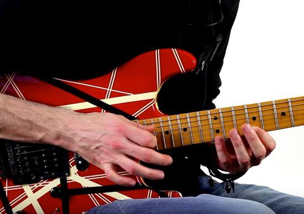 How to Tap Like Eddie Van Halen, Randy Rhoads and Reb Beach