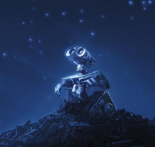 Wall·E - the animated comedy's loveable robot