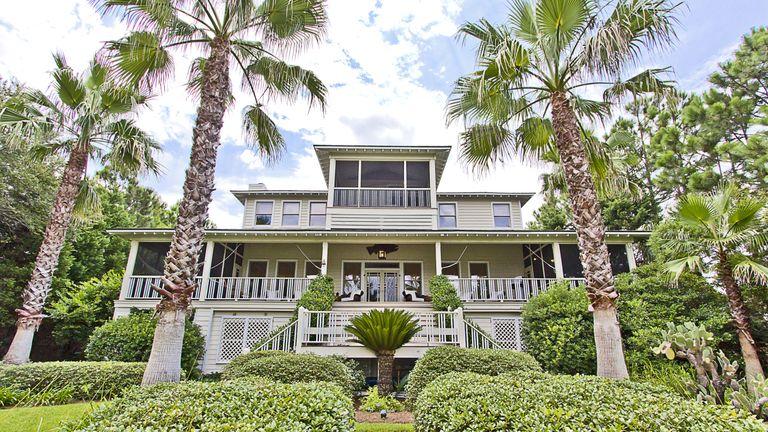 Explore Sandra Bullock's Coastal Chic Home