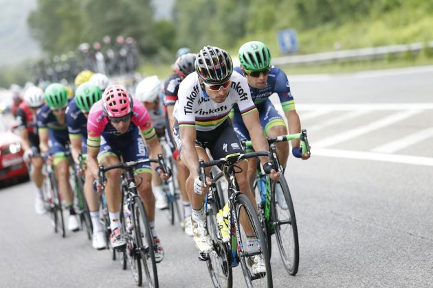 Another second place for Peter Sagan on Tour de France stage 10 was hard  fought after he was heavily marked in the breakaway group 0c262f2fb