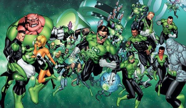 Green Lantern Corps comics